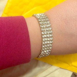 Vintage rhinestone bracelet‼️BOGO‼️